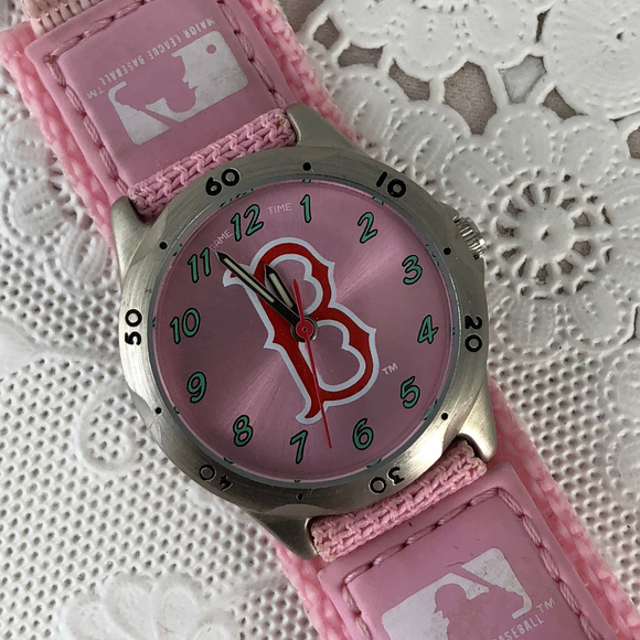 MLB Accessories - Boston in Pink
